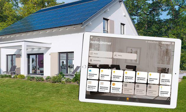 Anche la WeberHaus offre pacchetti HomeKit per i suoi prefabbricati