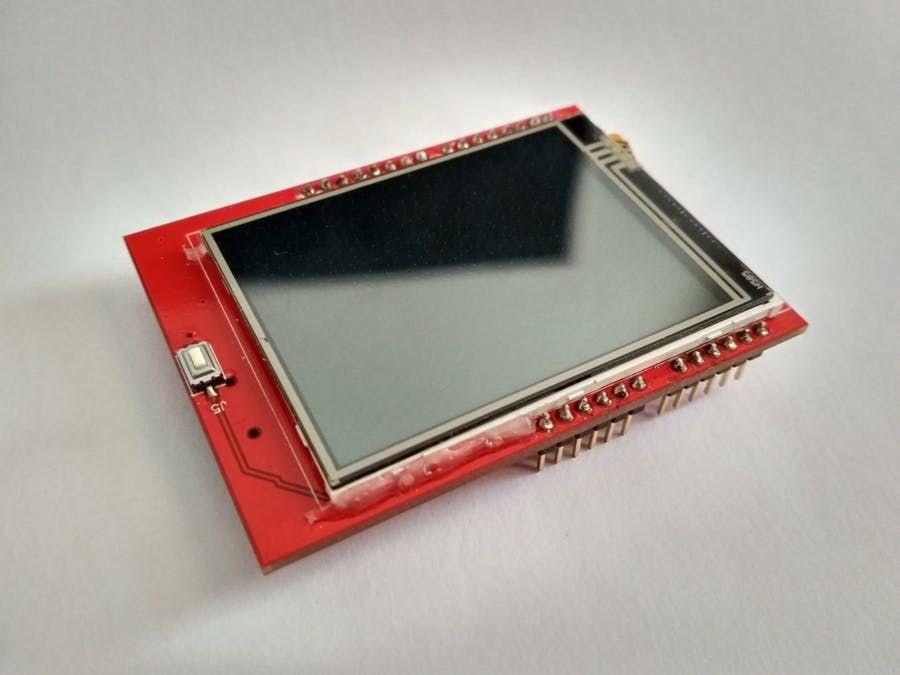 Arduino Uno 2 4 Tft Lcd Display Shield Touch Panel Ili9341