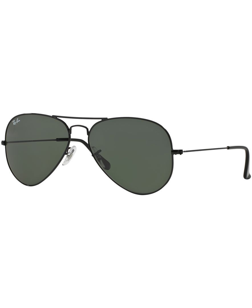 Ray-Ban AVIATOR Sunglasses, RB3025 58 - Sunglasses by Sunglass Hut -  Handbags   Accessories - Macy s a8e1e8ba84