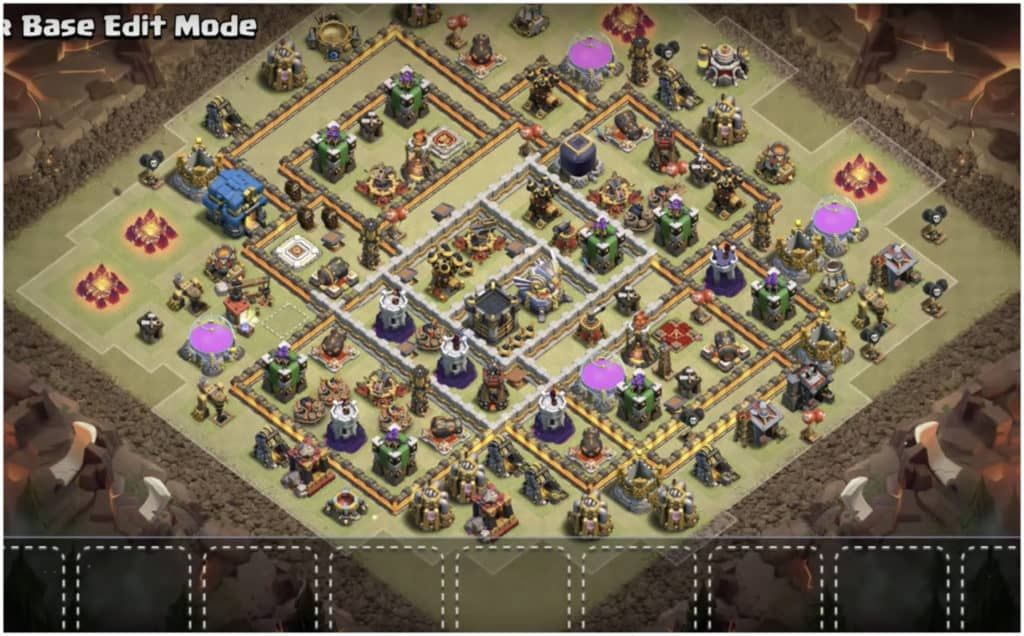 Base Coc Th 12 War Terkuat 3