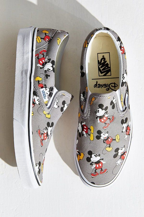 Vans Mickey Mouse Slip-On Sneaker     I have the minnie mouse version  3 8d2575fe6