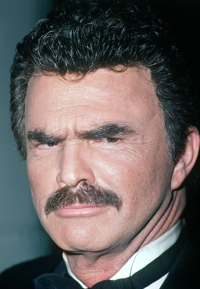 The Many Mustaches Of Burt Reynolds Burt Reynolds