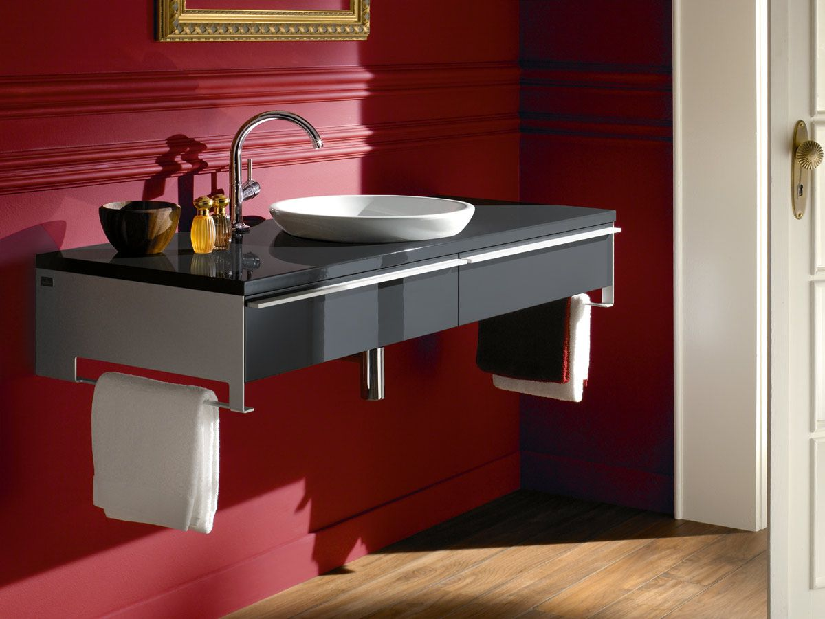 Villeroy Boch Shape Furniture In Anthracite Glaze With Images