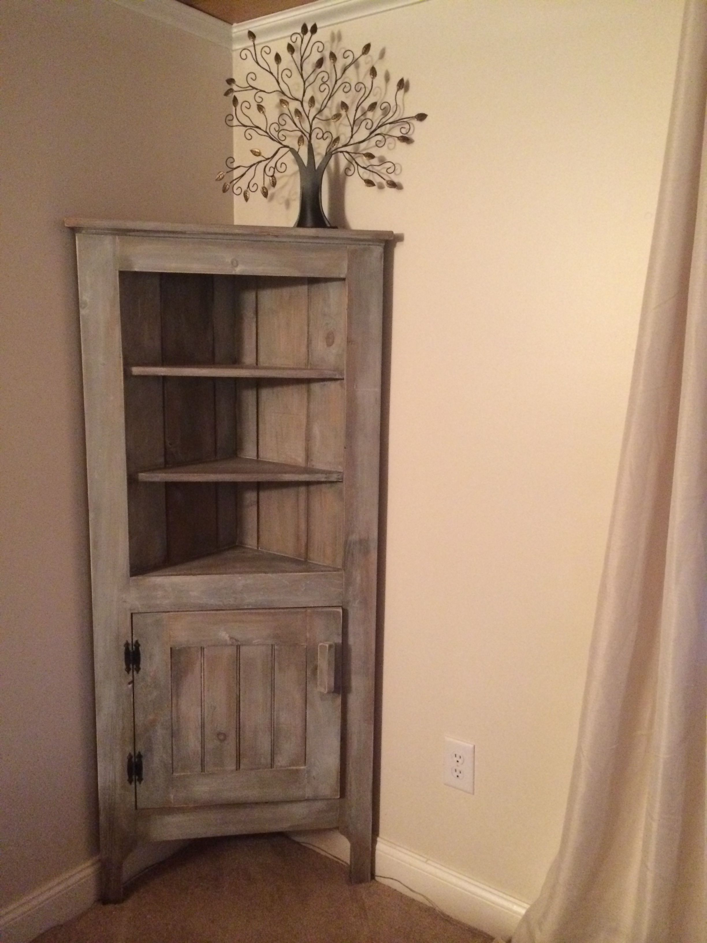 awesome brilliant rustic burger inside decor makeover designs china with foter corner jenna cabinet red hutch reveal