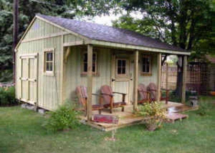 20 39 gartden storage sheds cabin cottages garden shed for Backyard cottage shed