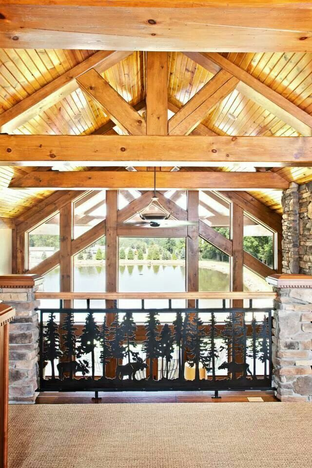 Compact Hybrid Timber Frame Home Design Photos Timber Home Living: Log Homes, Log Home Floor Plans, Timber Frame Homes