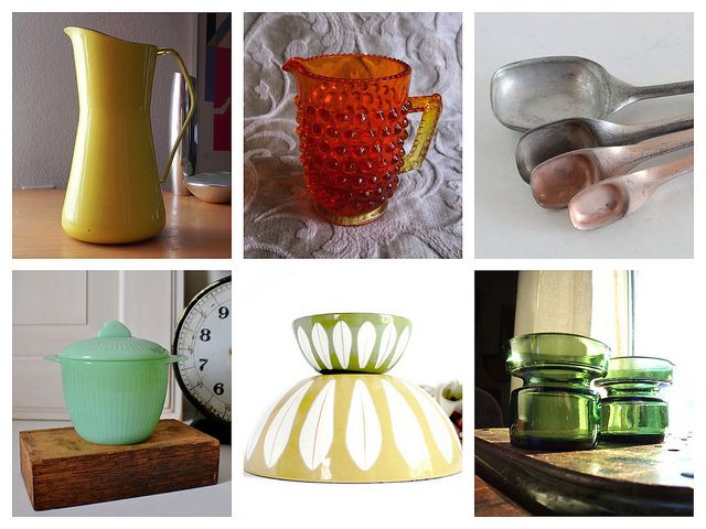 Vintage Kitchen goods by into it., via Flickr