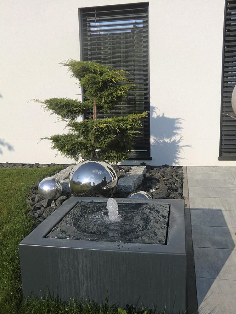 Referenzen In 2020 Terrassenbrunnen Wasserbrunnen Garten Wasserspiel Garten