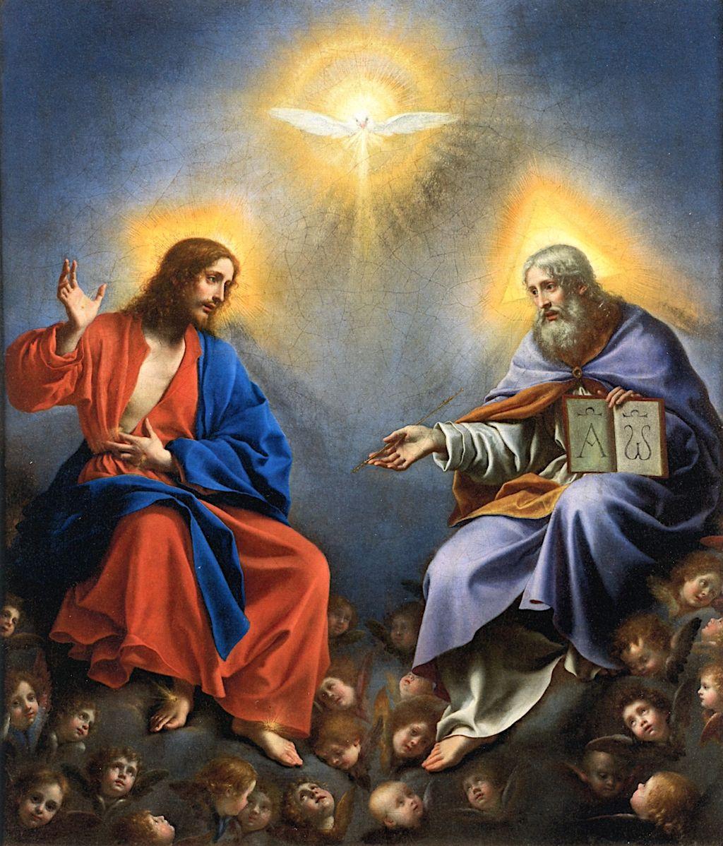 La Trinità In Gloria
