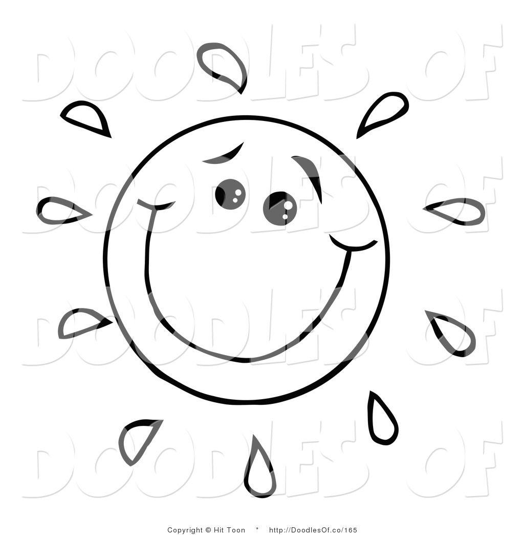 34+ Cute sun clipart black and white ideas in 2021
