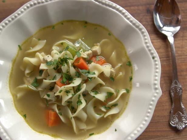 Chicken noodle soup receta comida deliciosa y comida chicken noodle soup forumfinder Choice Image