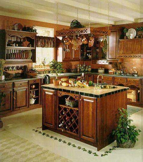 DecoracionBlogsInside » cocinas rusticas Diseños de casas