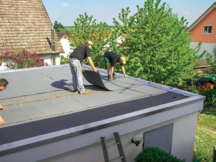 Dachbegrunung Anlage Pflege Und Kosten Dachbegrunung Carport Dach Carport Terrasse