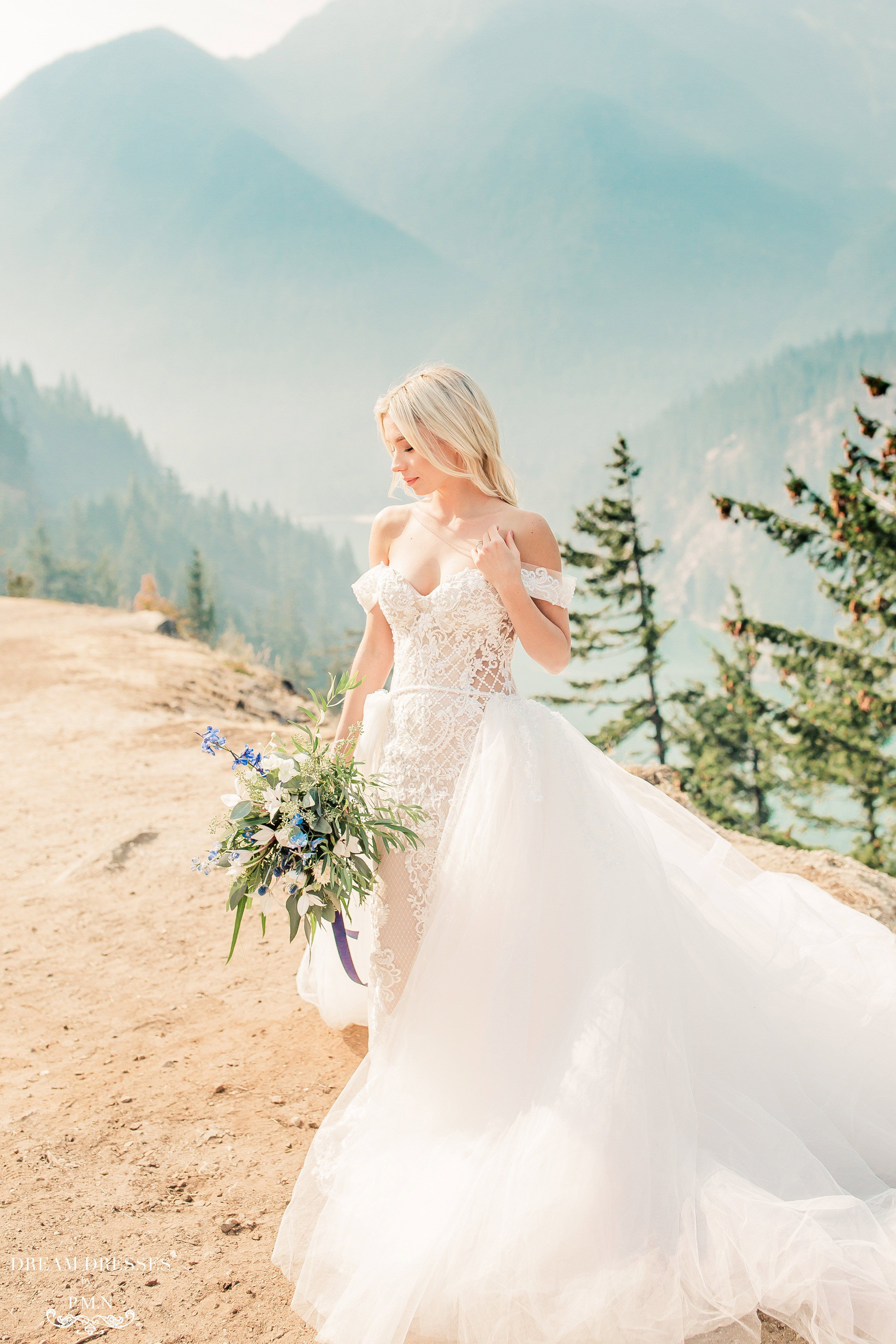 Detachable Bridal Overskirt (Andreas) (With images