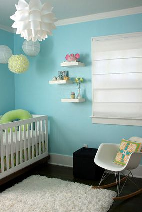 Aqua And Yellow Lemonade Baby Shower Eden S Nursery Room With Items Used From