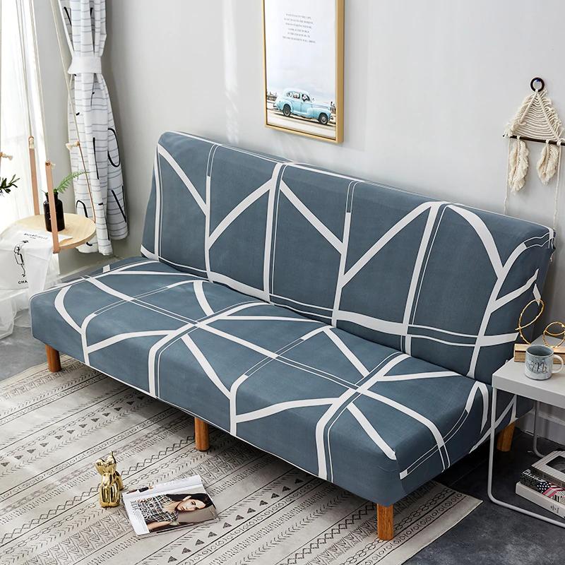 Length 160190cm Armless Folding Sofa Bed Protector
