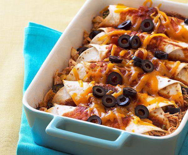 Chicken and Olive Enchiladas | Lindsay
