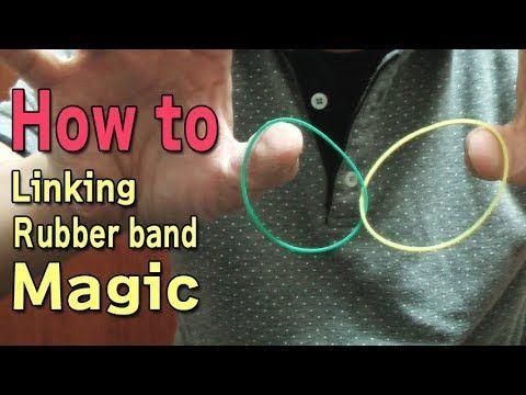 一味違う 輪ゴムマジック 色々 (種明かし) Linking Rubber Band Magic Tricks