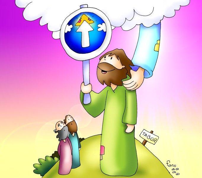 Segundo Domingo De Cuaresma Transfiguracion Dibujos Transfiguracion De Jesus