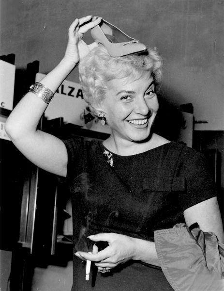 1956 Adriana Serra Miss Italia 1941 Actress Tv Announcer