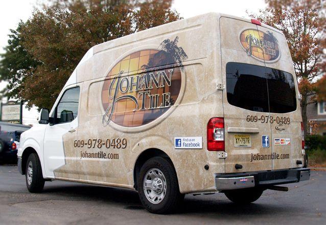 Nissan Nv Van Wrap For Johann Tile Manahawkin Long Beach Island Nj Ocean County Nj Van Wrap Manahawkin Nissan Nv Wrap Nj Nv Wraps New Van Wrap Wraps Van
