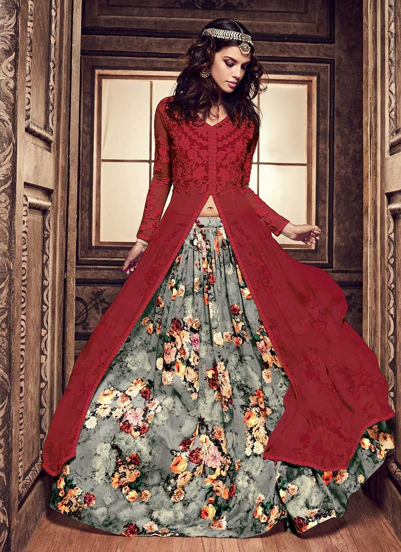 54eef1bda8b Maroon Umbrella Long Choli Lehenga. Maroon Umbrella Long Choli Lehenga Indian  Dresses