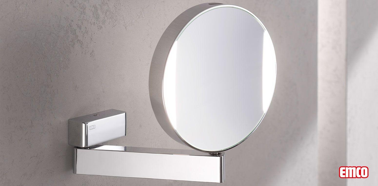 Emco Universal Led Rasier Und Kosmetikspiege Schminkspiegel Beleuchtet Schminkspiegel Schminkspiegel Mit Beleuchtung