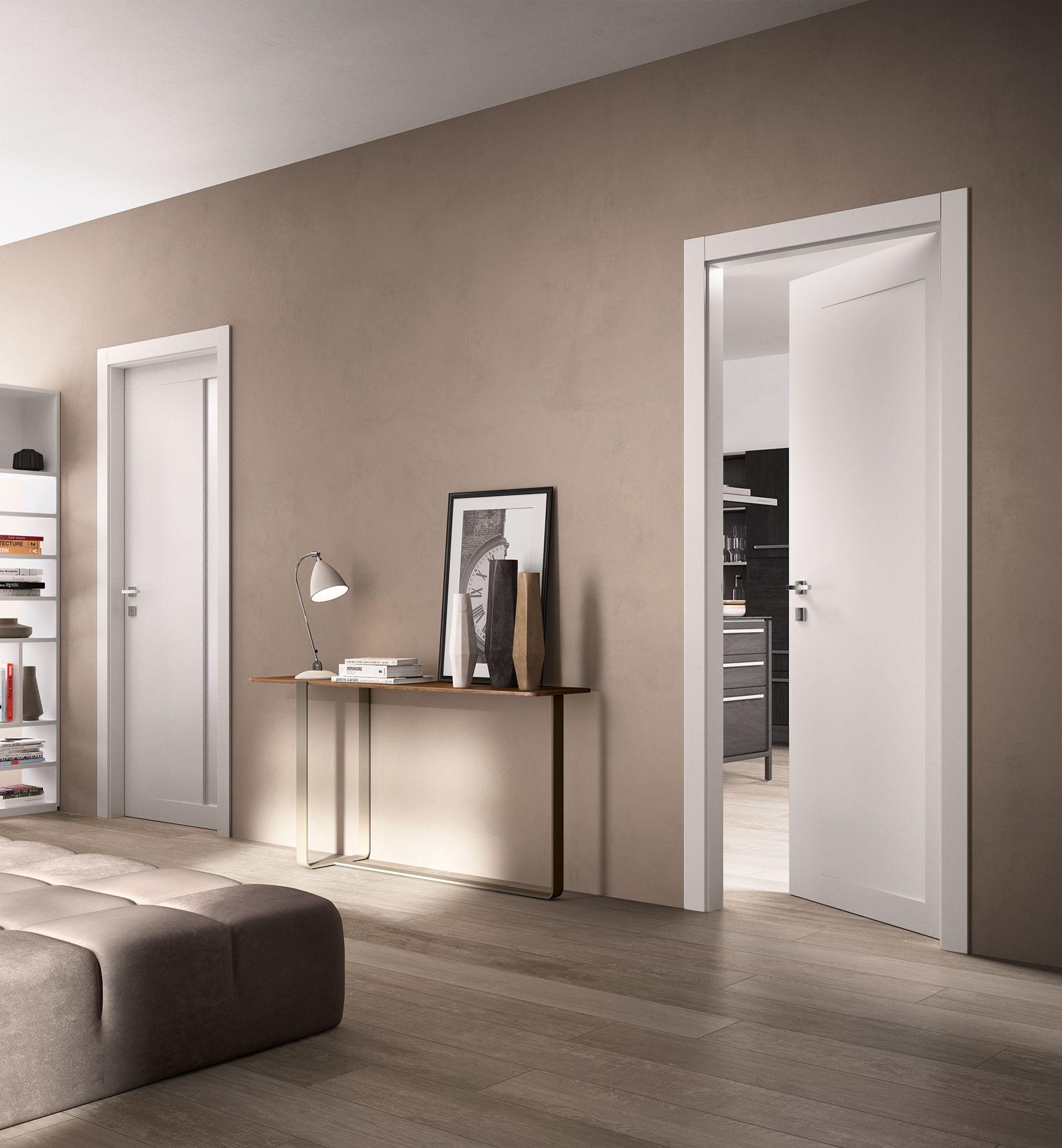 Porte Suite 8 E Suite 9 Bianco Ferrerolegno Suite Ferrerolegno