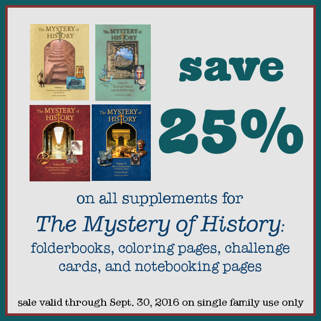 Photo of Our Mystery of History Notebook and Printable Planning Pages