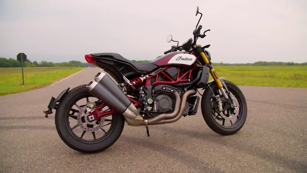 2019 Indian FTR 1200 on the road, all review Chevrolet