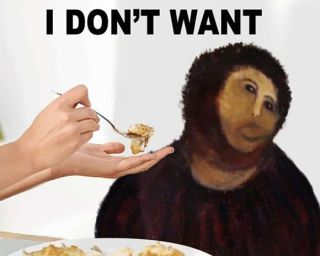 Spanish Town Rolls In Cash Thanks To Famously Awful Art Restoration With Images Painting Memes Jesus Funny Internet Funny