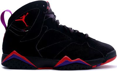 AIR JORDAN 7 BLACK TRUE RED