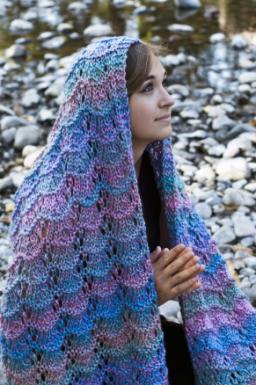 Hugs and prayers shawl free knitting pattern