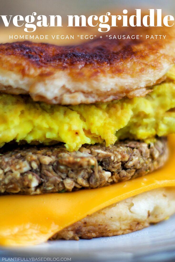 Vegan Mcgriddle Healthy Breakfast Sandwich Mexican Breakfast Recipes Vegan Breakfast Recipes
