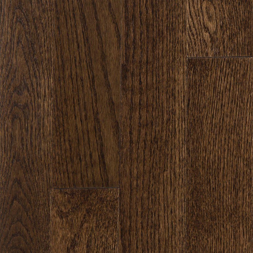 Builder S Pride Mocha Oak Solid Hardwood Flooring 3 4 X 3 1 4 4 59 Sqft Lumber Liquidators In 2020 Solid Hardwood Floors Prefinished Hardwood Beautiful Flooring