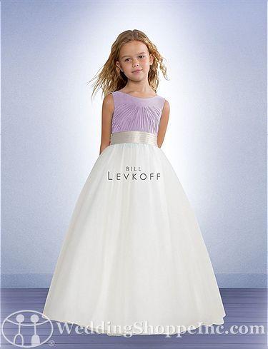 a0821730baf Bill Levkoff Flower Girl Dress 52101