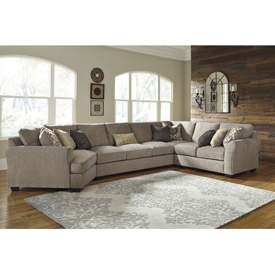 Benchcraft Pantomine Large Cuddler Sectional Living Room Furniture City Furniture Sectional Sofa Couch