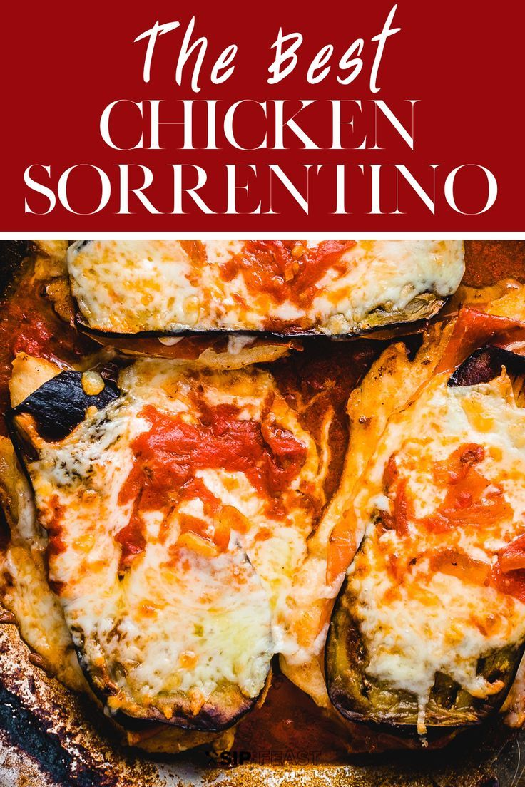 Photo of Chicken Sorrentino Recipe with Eggplant And Prosciutto – Sip and Feast