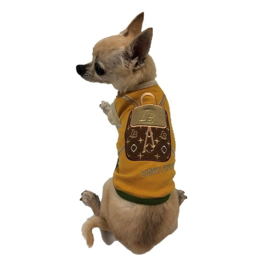 Chewy vuiton backpack bronze dog tank with images dogs
