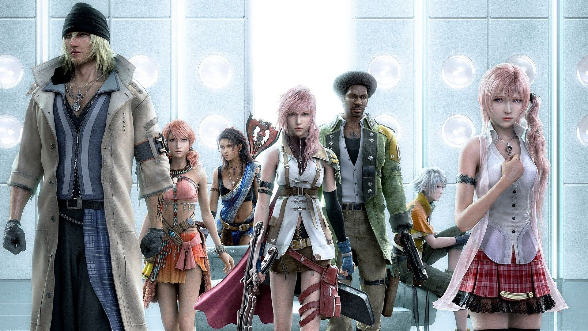 1920x1080 Free Screensaver Wallpapers For Final Fantasy Xiii Personajes De Final Fantasy Final Fantasy Videojuegos