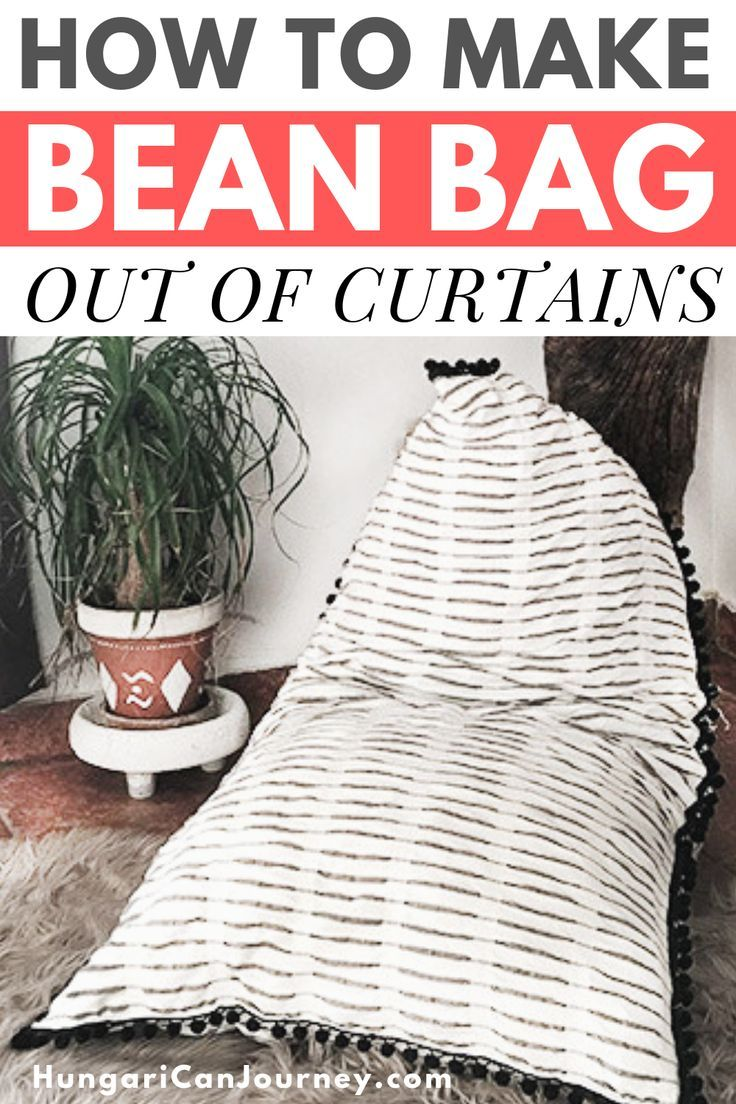 Outstanding How To Make A Pyramid Bean Bag Chair Out Of Old Curtains Caraccident5 Cool Chair Designs And Ideas Caraccident5Info