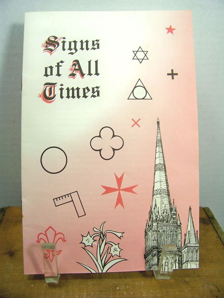Signs Of All Times Crosses Symbols Candles Apostles Pacific