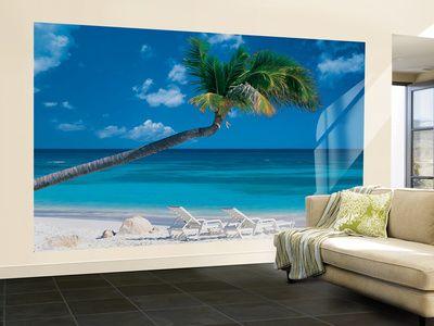 Ocean Breeze Wallpaper Mural Landscape wallpaper, Photo