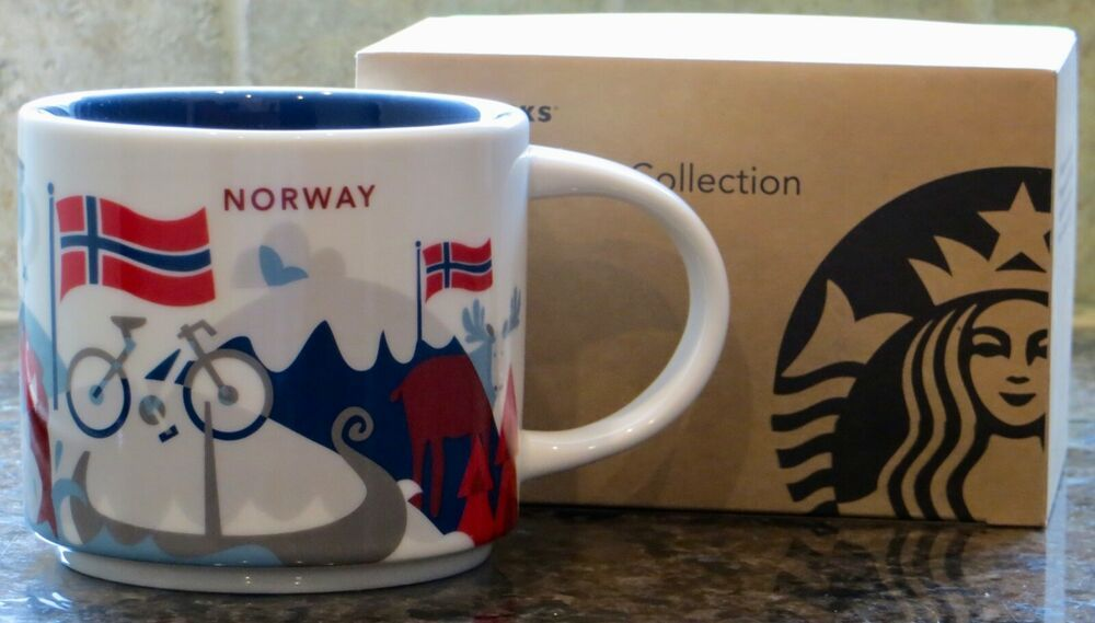 You Nwt Here Yah Norway Sku Series Mug With Starbucks Collector Are kwZiTPOXu