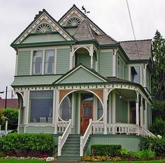VICTORIAN HOMES    Yay Or Nay? Do You Love The Details Of A Victorian Home  Or Do You Prefer A Different Home Style? Find This Pin And More On Paint  Ideas ...