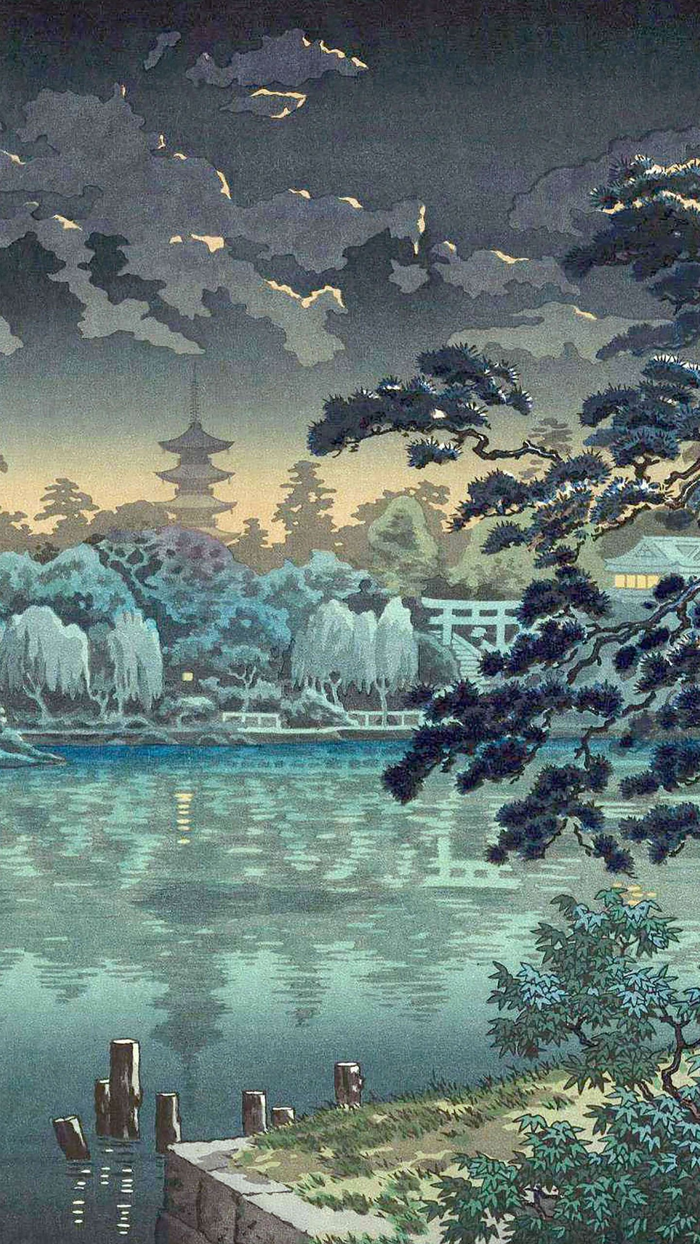 ukiyoe app Art wallpaper, Japanese wallpaper iphone