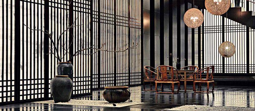 Chinese style design chinese style pinterest - Japanische innenarchitektur ...