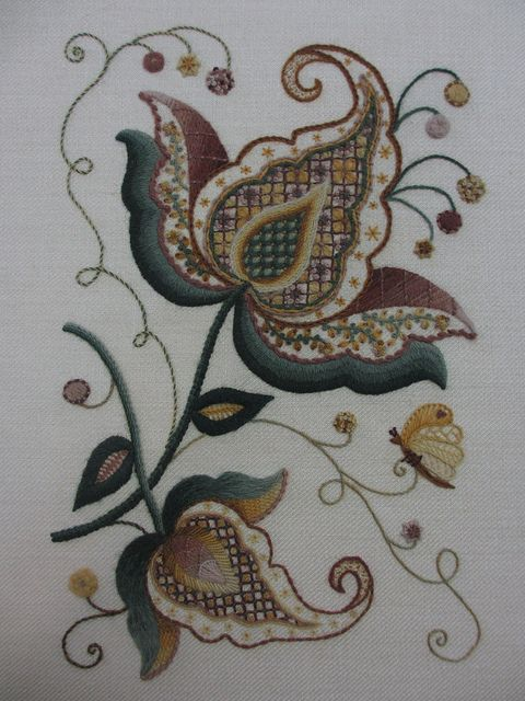 Jacobean Crewelwork Only Jacobean Pinterest Embroidery Crewel Stunning Crewel Embroidery Patterns