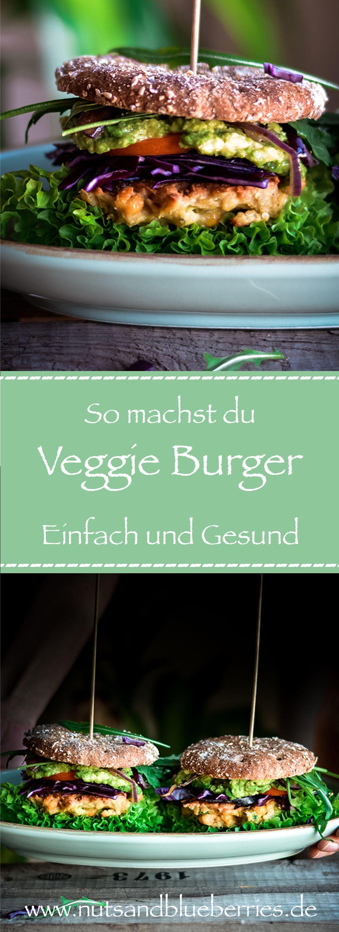 Photo of Mr. und Mrs. Kichererbsen-Burger – nutsandblueberries