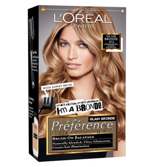 L Oreal Preference Glam Bronde 02 Bronde Loreal Dyed Hair